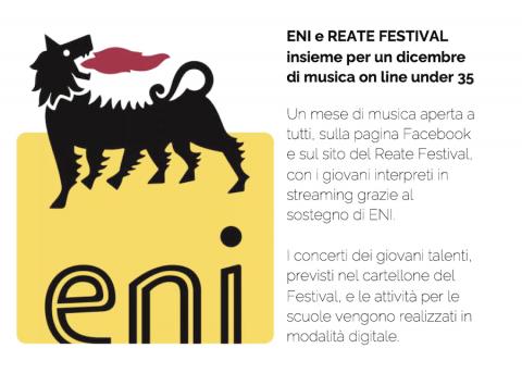ENI e Reate Festival